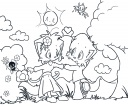 "(Thumbnail of ""Colouring Pages - Holidays for Two"")"