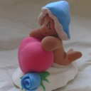 "(Thumbnail of ""Valentine Clay Figures"")"